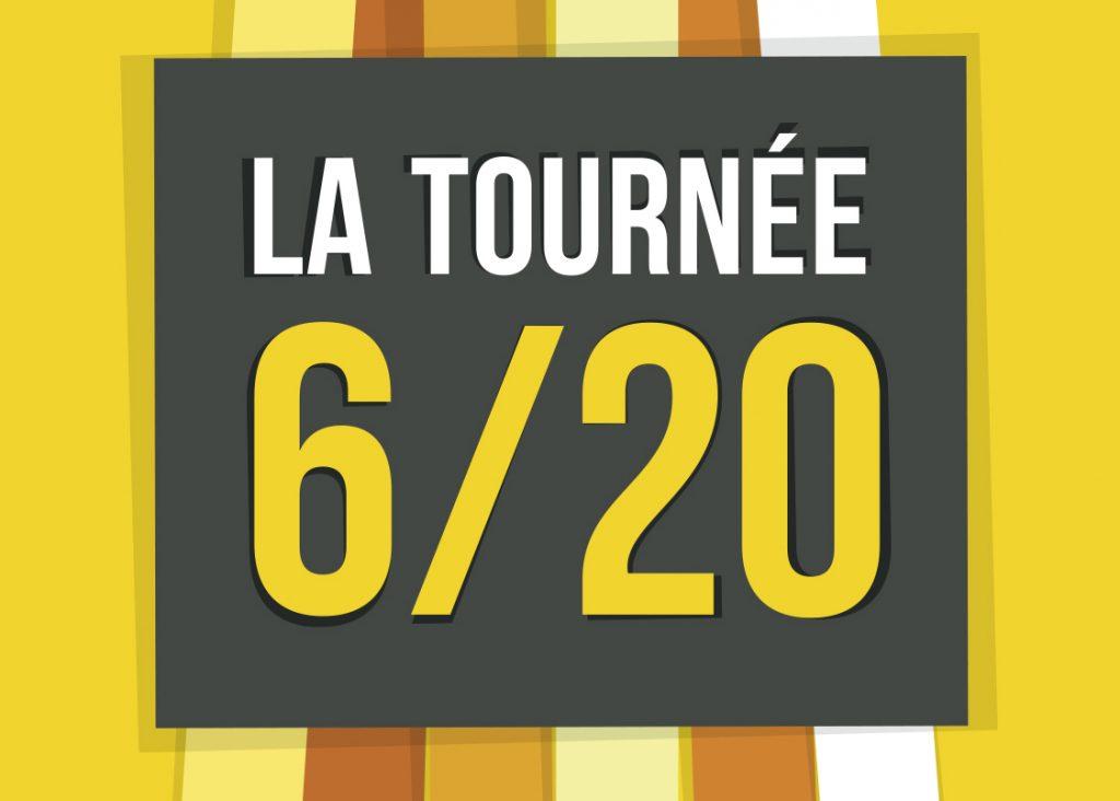 Logo Tournée 6/20